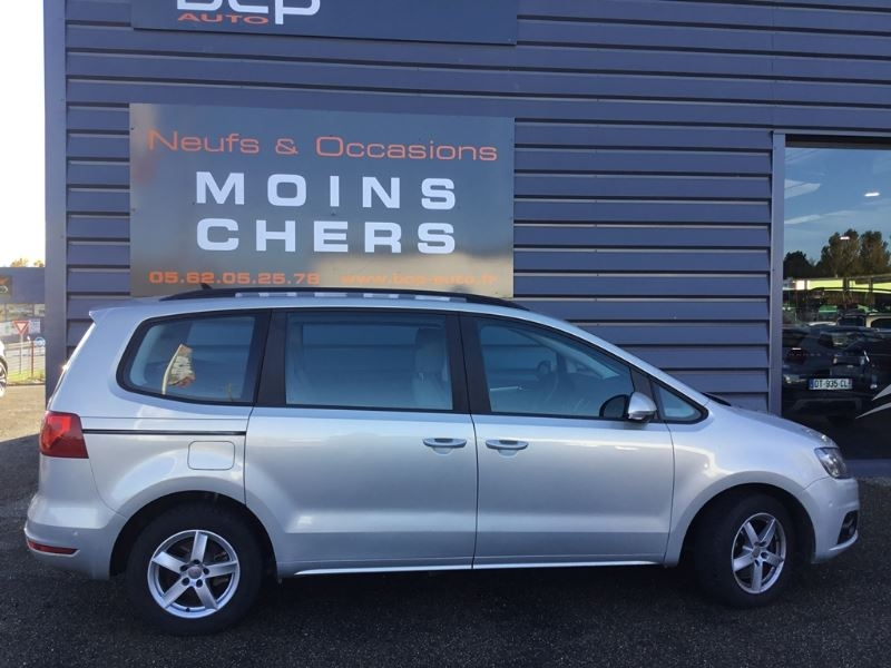 Seat ALHAMBRA 2.0 TDI 140CH FAP STYLE BUSINESS Diesel GRIS Occasion à vendre