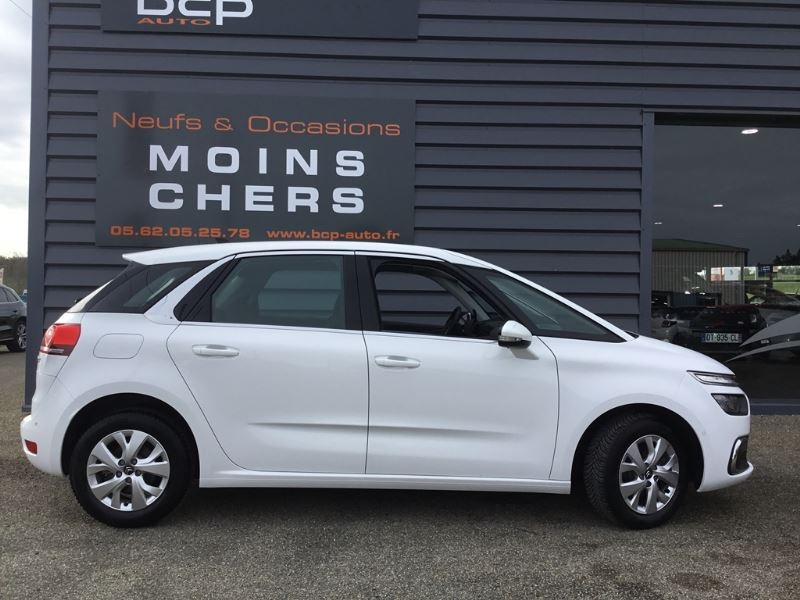 Photo 2 de l'offre de CITROEN C4 PICASSO BLUEHDI 120CH FEEL S&S EAT6 à 22590€ chez BCP Automobiles