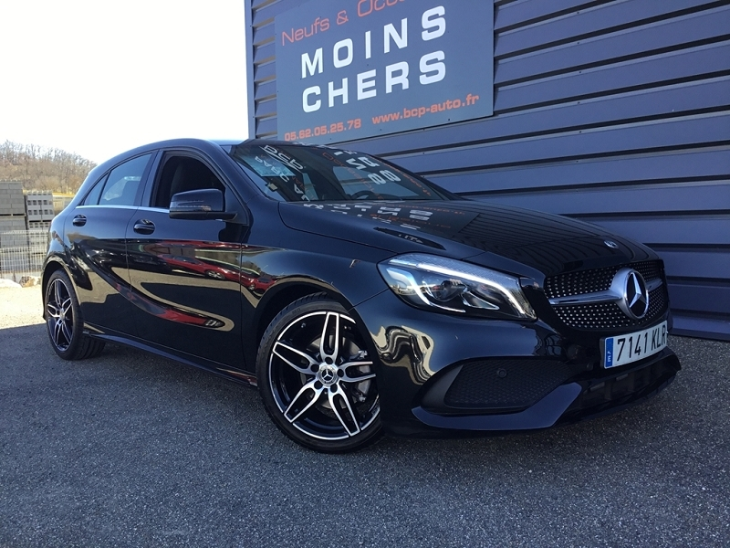 Mercedes-Benz CLASSE A (W176) 200 D FASCINATION 4MATIC 7G-DCT Diesel NOIR Occasion à vendre