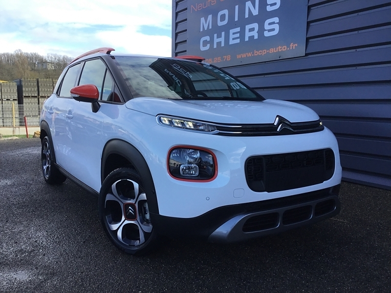 Citroen C3 AIRCROSS PURETECH 110CH S&S SHINE EAT6 E6.D-TEMP Essence BLANC NATUREL Occasion à vendre