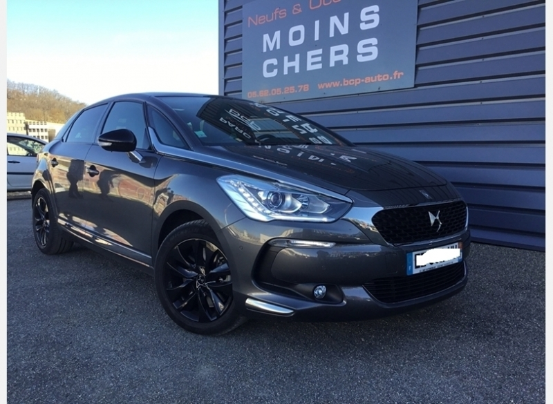 Ds DS 5 BLUEHDI 150CH SO CHIC S&S Diesel GRIS Occasion à vendre