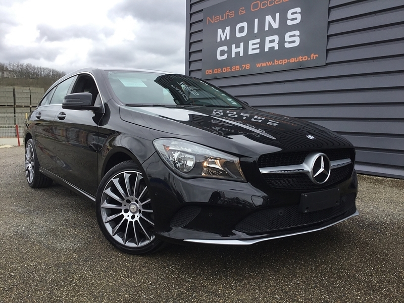 Mercedes-Benz CLA SHOOTING BRAKE 200 D BUSINESS EDITION 7G-DCT Diesel NOIR COSMO Occasion à vendre