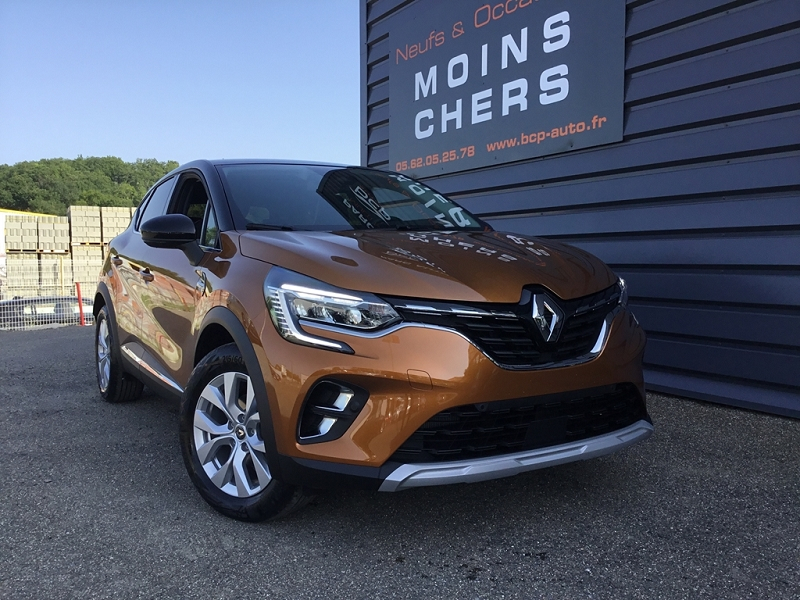 Renault CAPTUR II 1.5 BLUE DCI 115CH INTENS EDC Diesel ORANGE Occasion à vendre